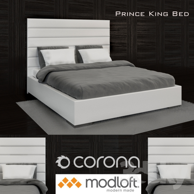 Modloft Prince King Bed