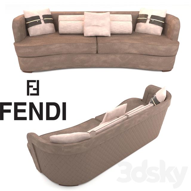 3d models sofa fendi sofa for Fendi casa catalogo