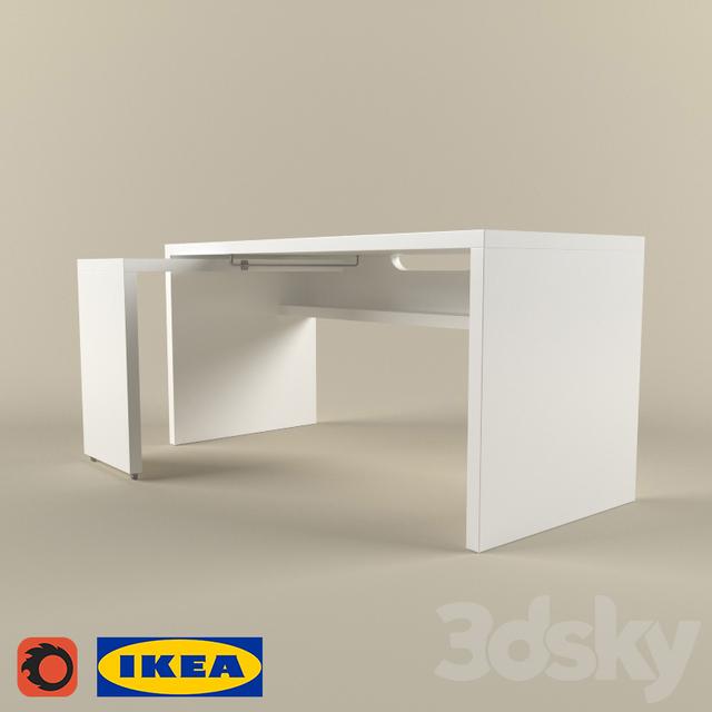 3d Models Table Ikea Malm