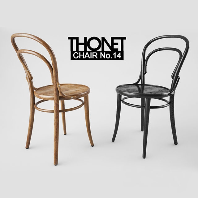 3d Models Chair Thonet Chair No 14