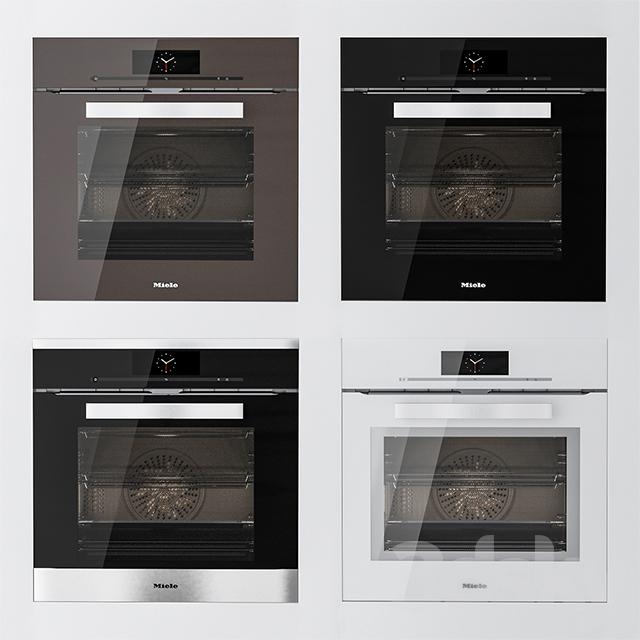 3d models kitchen appliance miele h 6860 bp. Black Bedroom Furniture Sets. Home Design Ideas