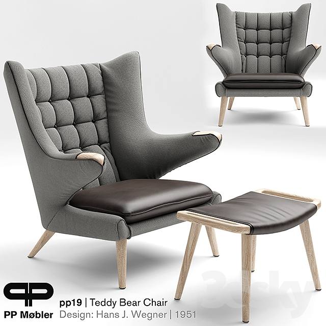 Superior Armchair THE TEDDY BEAR CHAIR PP19