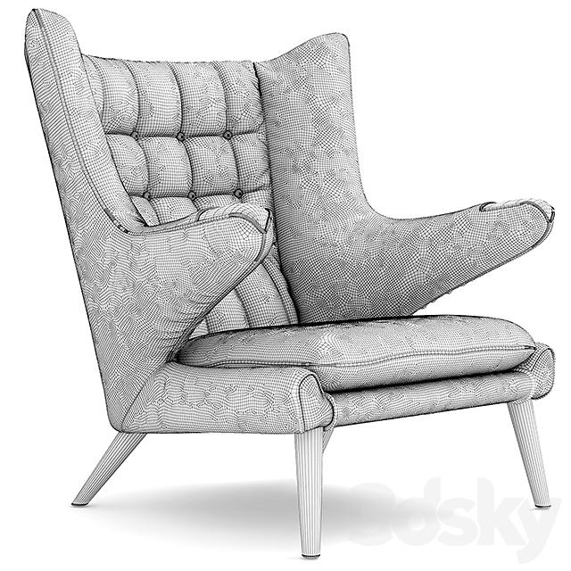 3d Models: Arm Chair   Armchair THE TEDDY BEAR CHAIR PP19