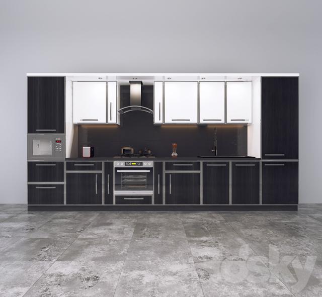 3d models kitchen direct cuisine. Black Bedroom Furniture Sets. Home Design Ideas