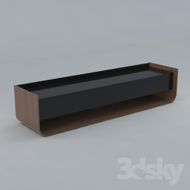 3d models sideboard chest of drawer sideboard ligne roset stem by eric jourdan. Black Bedroom Furniture Sets. Home Design Ideas