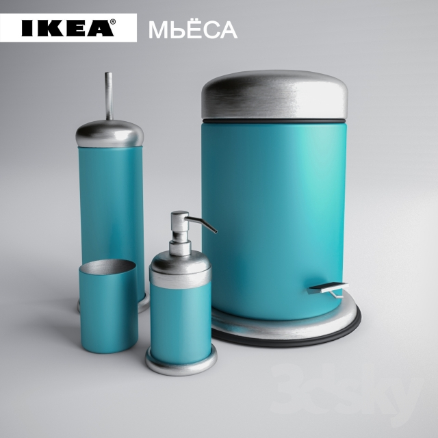 3d models bathroom accessories decor ikea bathrooms mj sa - Bathroom accessories sets ikea ...