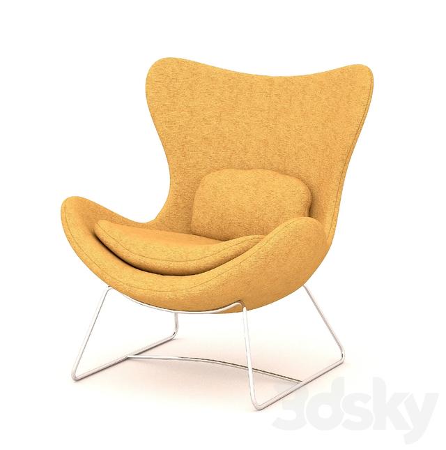 Lazy Armchair by Calligaris  sc 1 st  3DSky & 3d models: Arm chair - Lazy Armchair by Calligaris