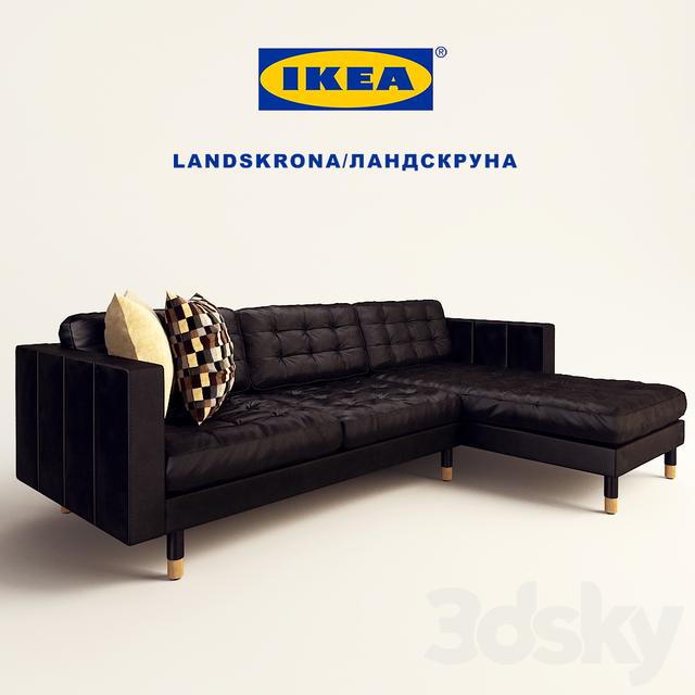 3d Models Sofa LANDSKRONA Landskrona 3 Seater
