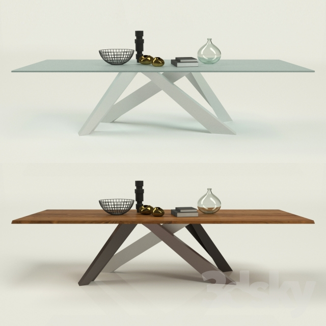 3d models: Table - Bonaldo - Big Table