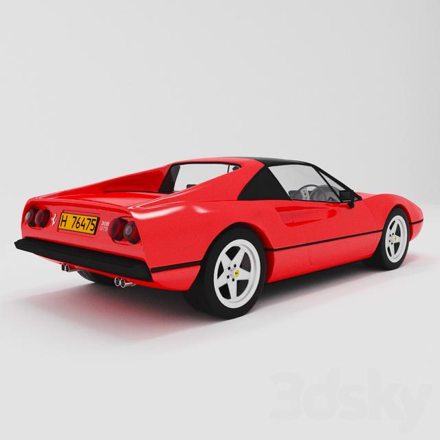 Transport Ferrari: Ferrari Car 308 GTB 1975