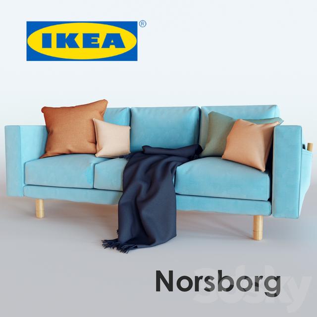 3d models sofa norsborg. Black Bedroom Furniture Sets. Home Design Ideas