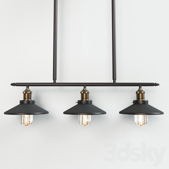 Ceiling Light Crossbar : D models ceiling light crossbar