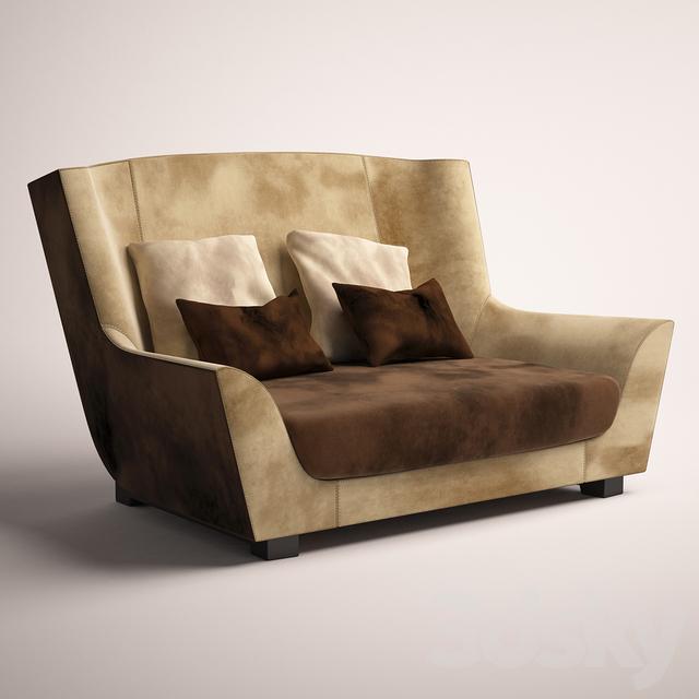 3d models: Arm chair - Rossi di Albizzate. Salon SL 154