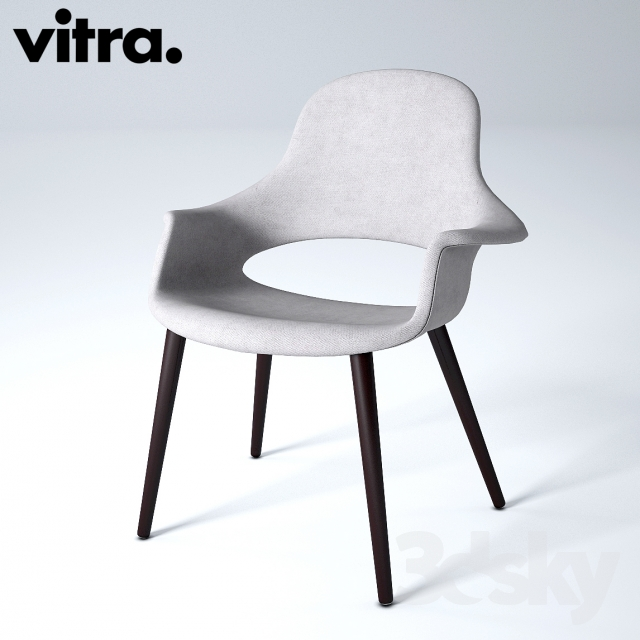 Bon 3d Models: Chair   Vitra, Organic Chair, Charles U0026amp; Ray Eames