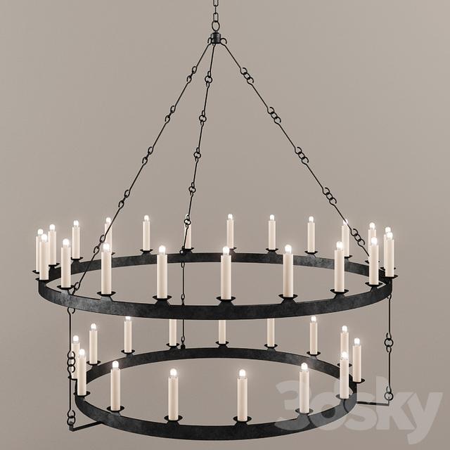 Paul ferrante eternity chandelier