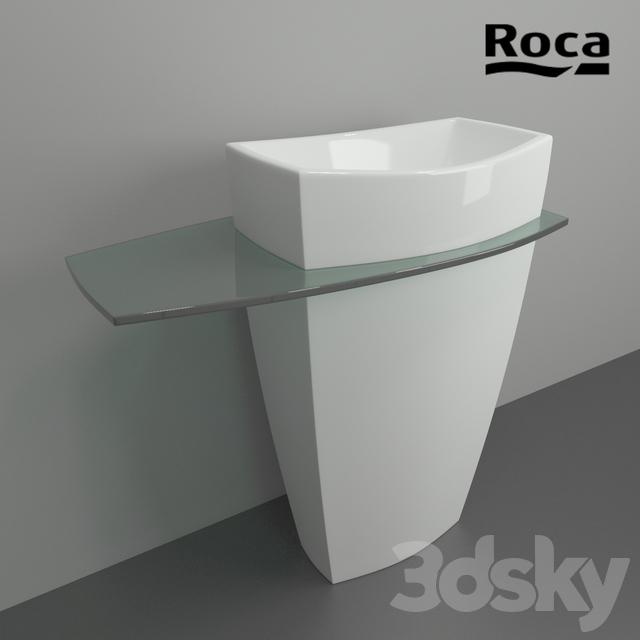pedestal basin roca tiber - Roca Wash Basin