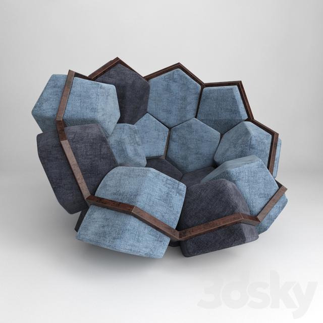 Modular Chair Designer Quartz Chair
