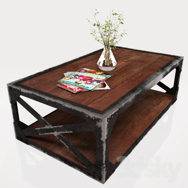 3d Models Table Coffee Table Leffie