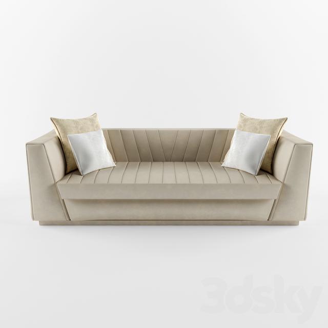 3d models sofa versace sofa Versace sofa
