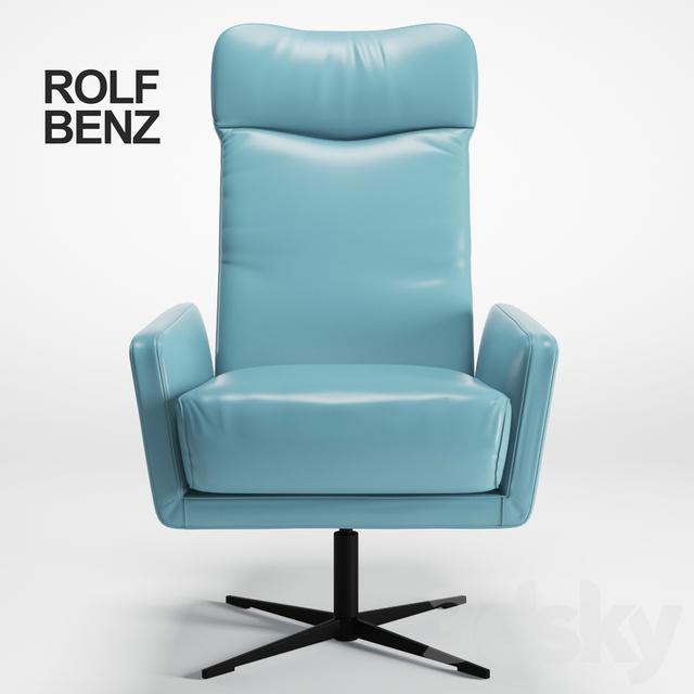 3d models arm chair chair rolf benz 560. Black Bedroom Furniture Sets. Home Design Ideas