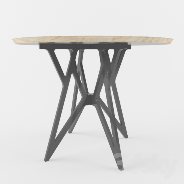 3d models table dining table by web voca design for Table design web