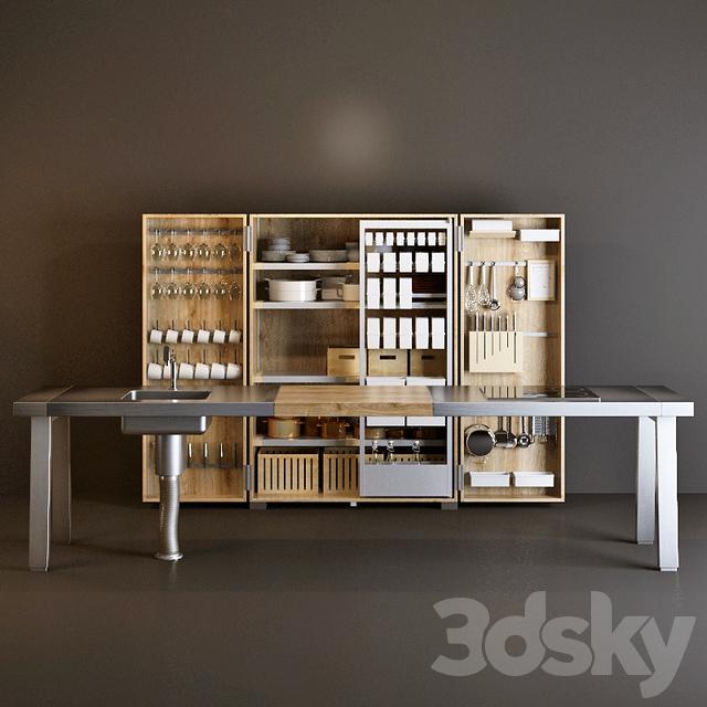 3d models kitchen bulthaup b2. Black Bedroom Furniture Sets. Home Design Ideas