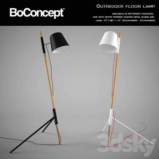 3d Models Floor Lamp Boconcept Outrigger Floor Lamp
