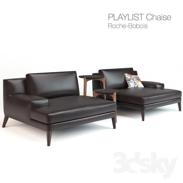 3d Models Arm Chair Playlist Chaise Roche Bobois