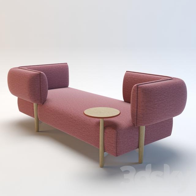 3d models sofa sofa by patricia urquiola moroso - Patricia urquiola sofa ...
