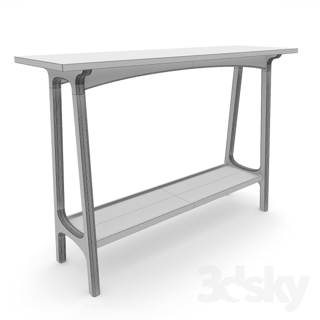 92d7f626a6a72 3d models  Other - West elm Reeve Mid-Century Console