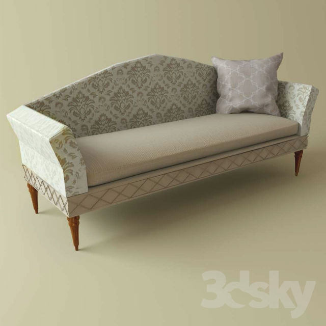 3d models: Sofa - Sofa with patterns