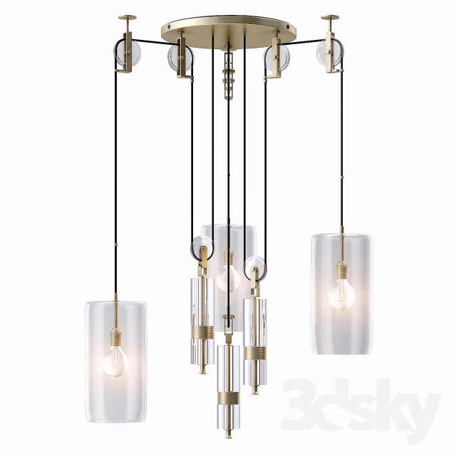 3d models ceiling light holly hunt counterweight chandelier holly hunt counterweight chandelier aloadofball Choice Image