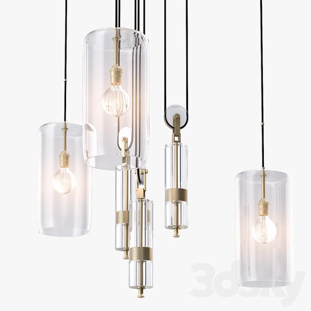 3d models ceiling light holly hunt counterweight chandelier aloadofball Images