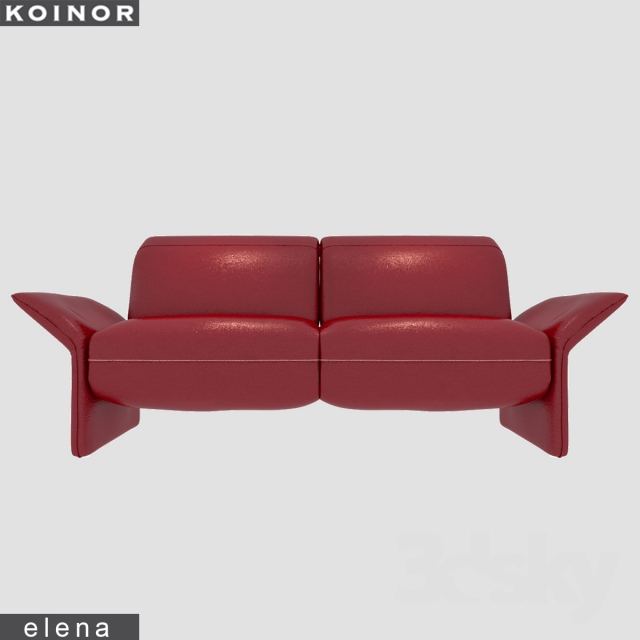 3d models sofa koinor elena. Black Bedroom Furniture Sets. Home Design Ideas