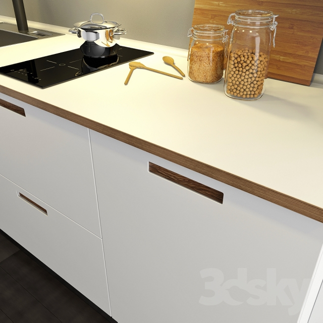 3d Models Kitchen Kitchen Ikea Method M 228 Rsta Marsta