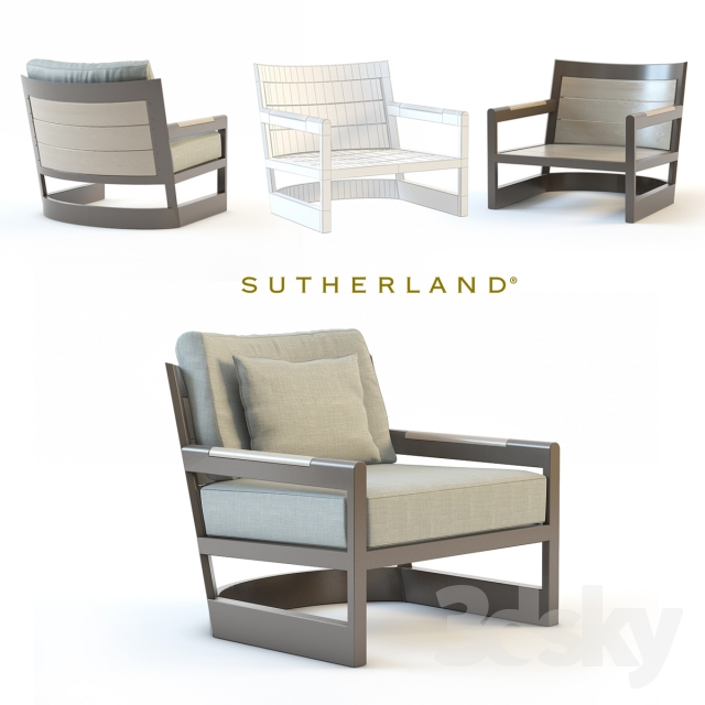 Merveilleux Sutherland Furniture, Great Lakes Lounge Chair