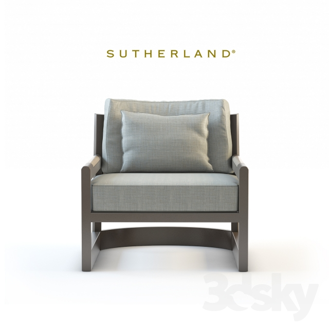 Genial 3d Models: Arm Chair   Sutherland Furniture, Great Lakes Lounge Chair