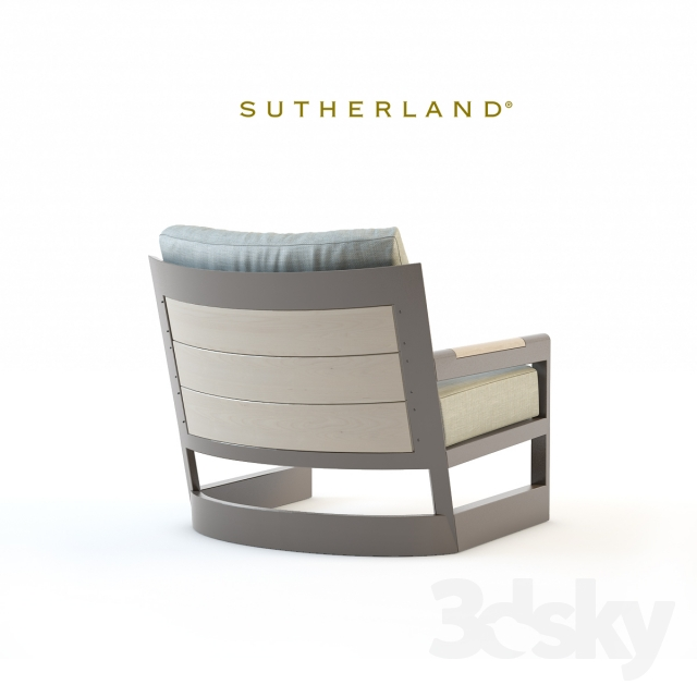 3d Models: Arm Chair   Sutherland Furniture, Great Lakes Lounge Chair