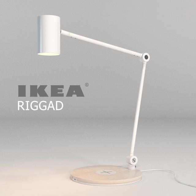 3d Models Table Lamp Ikea Riggad