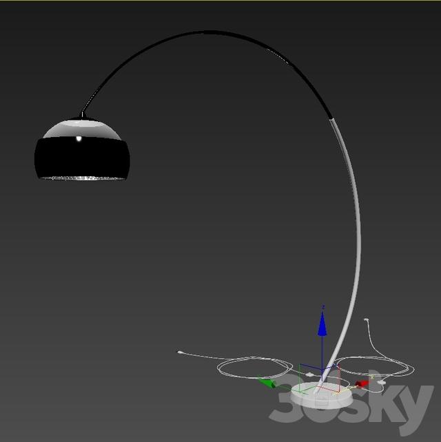 3d Models Floor Lamp Leds C4 Hoop Balloons 25 0058 Bw M1