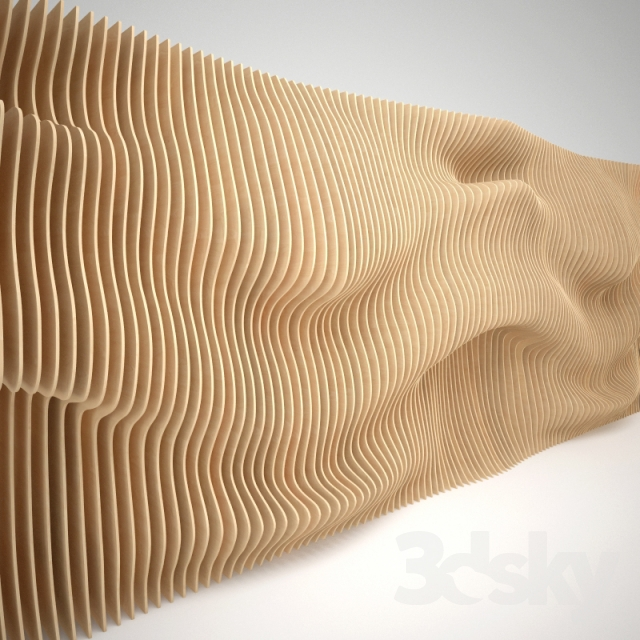 3d Models Other Decorative Objects Parametric Wall