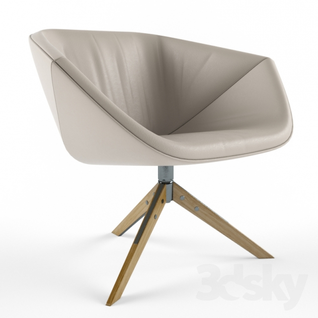 3d Models Arm Chair Montis Ella Easy Chair
