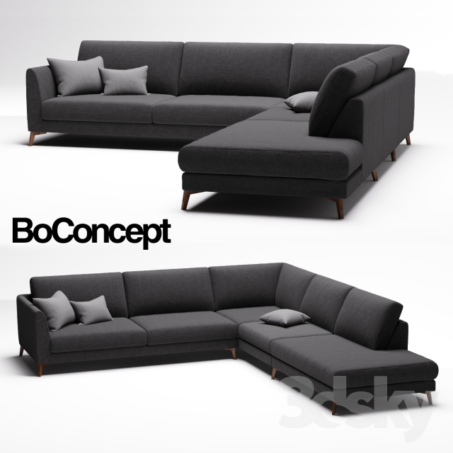 3d models sofa sofa boconcept fargo. Black Bedroom Furniture Sets. Home Design Ideas