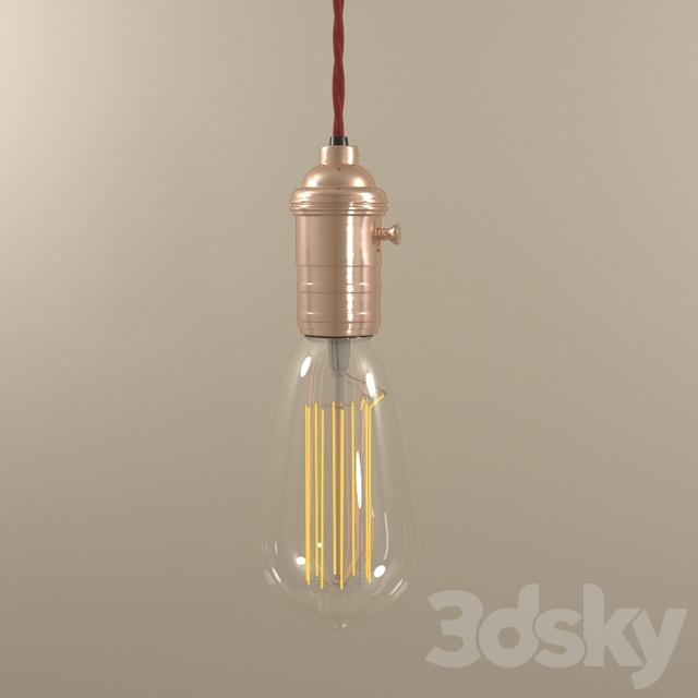 Industrial Ceiling Light 3ds Max: 3d Models: Ceiling Light