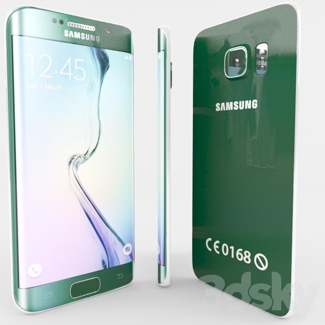 Samsung Galaxy S6edge green