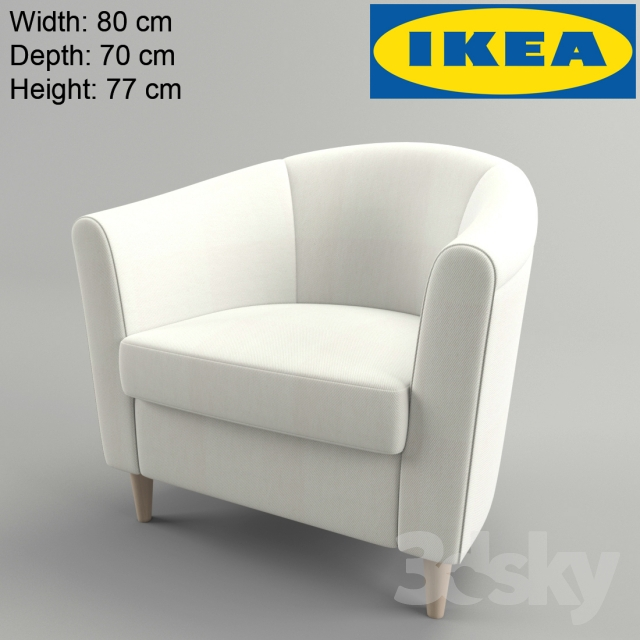 3d models arm chair ikea tullsta for Ikea tullsta