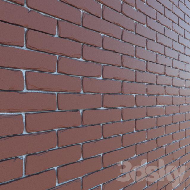 displace brick texture
