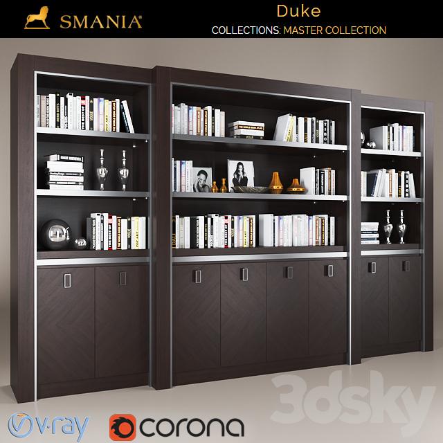 SMANIA DUKE wardrobe 8 doors