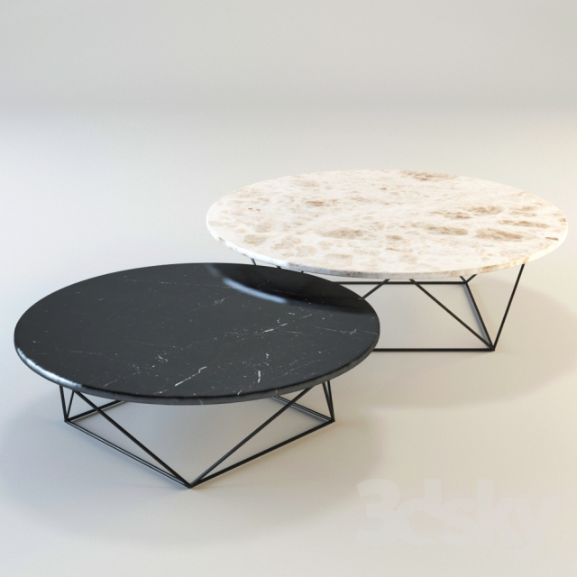 Knoll Marble Coffee Table: Walter Knoll Joco Stone