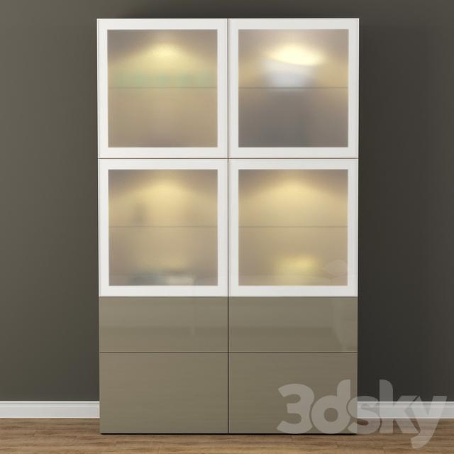 Wardrobe Showcase IKEA BESTO / Besta